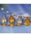 Feest slingers goud en zilver 6 stuks